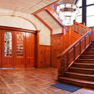 Villa Rothenberg Eingangsbereich