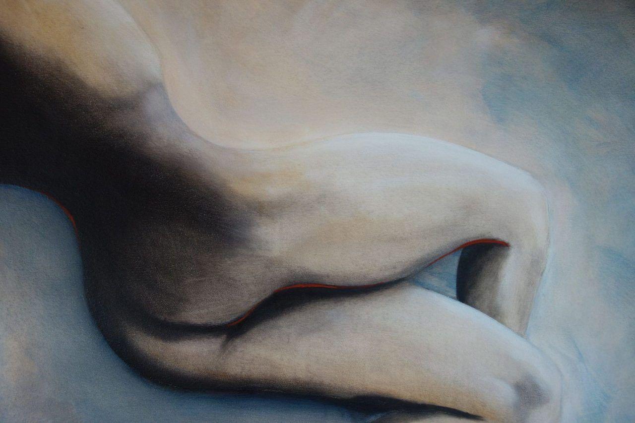 Akt-Gemälde einer Frau