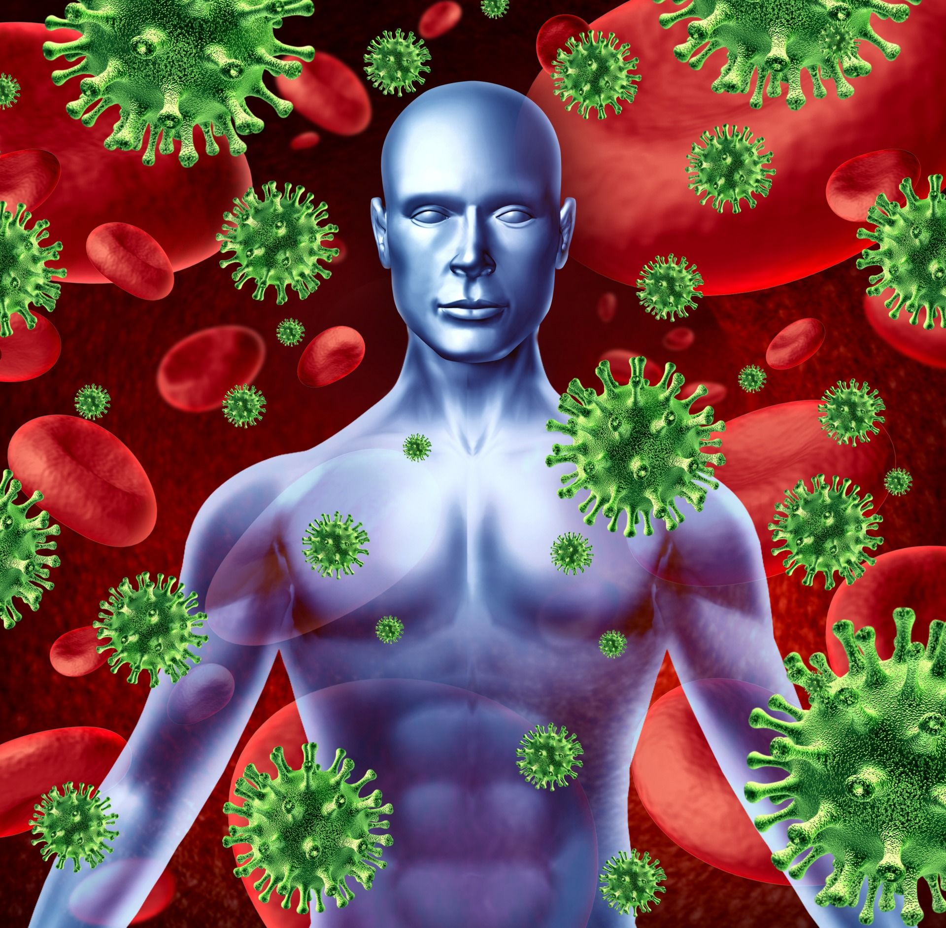 Krankheitserreger im Blut