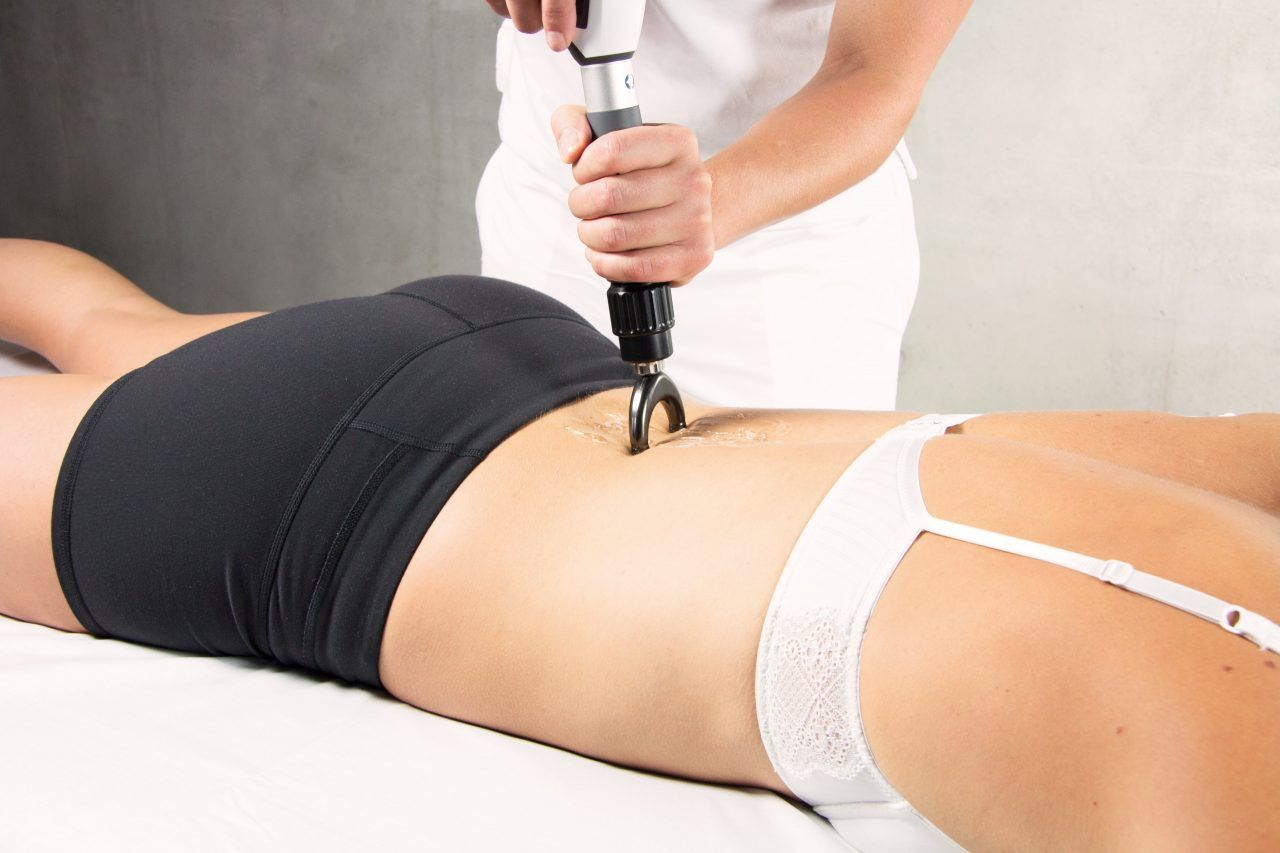 Stoßwellentherapie Anwendung Rücken